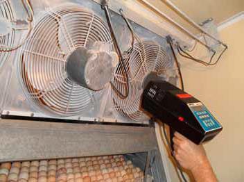 Проверка скорости работы вентиляторов