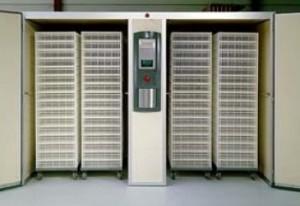 Выводной шкаф тележечного типа фирмы Petersime