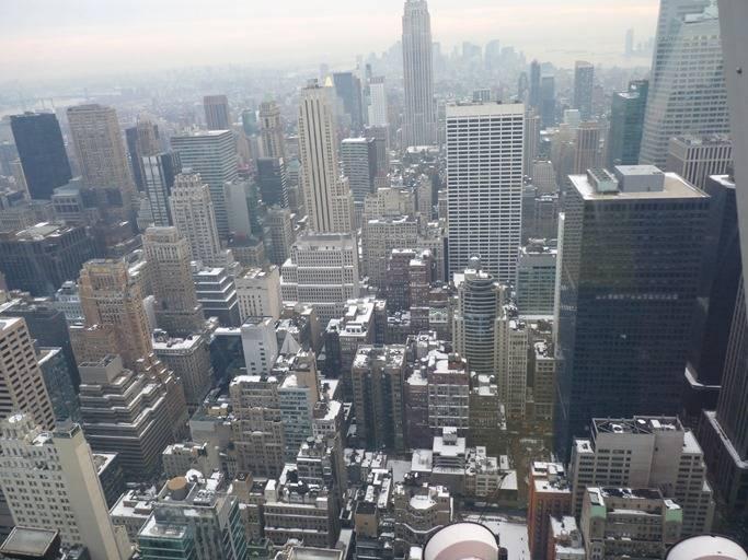 Квартал Манхеттена, зима, 2010